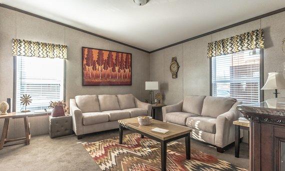 living room modular house image