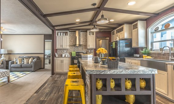 mobile home kitchen image
